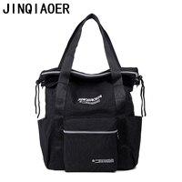The New Waterproof Nylon Bag Fashion Shoulder Diagonal Big Bag Large Capacity Multi Purpose Backpack