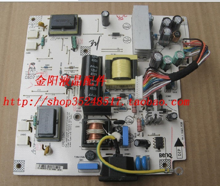 Free Shipping> 1740  L1940 high-voltage power supply board board 4H.L1G02.A30-Original 100% Tested Working l1502 f1523 high voltage power supply board board 715l1034 1a 1 used disassemble