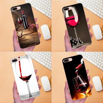 Keep Calm And Galss Of Red Wine Advantageous For Apple iPhone X XS Max XR 4 4S 5 5C 5S SE 6 6S 7 8 Plus Soft TPU Cell Bags