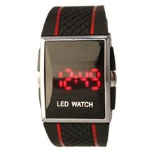 Simple Estilo de Los Hombres Reloj de la Marca de Lujo de Silicona LED Digital Fecha Reloj de Pulsera Deportivo Militar Reloj relogio digitales masculino Mejor