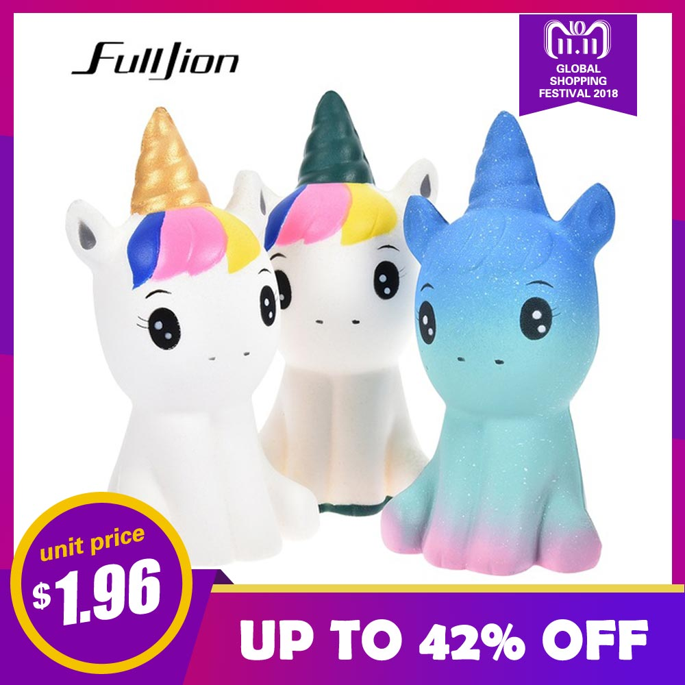 Fulljion Novelty Gag Toys Unicorn Squishy Sports & Entertainment Antistress Stress Relief Toys Surprise Fun Squeeze Popular Gift oyuncak squishy unicorn novelty gag toys surprise antistress fun squeeze unicorn squish kawaii anti stress jumbo funny gadgets