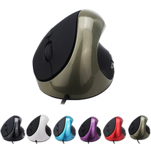 High Quality 6 Buttons USB Wired Optical Mice Ergonomic Design Vertical Mouse 800/1200/1600 DPI For PC laptop Desktop