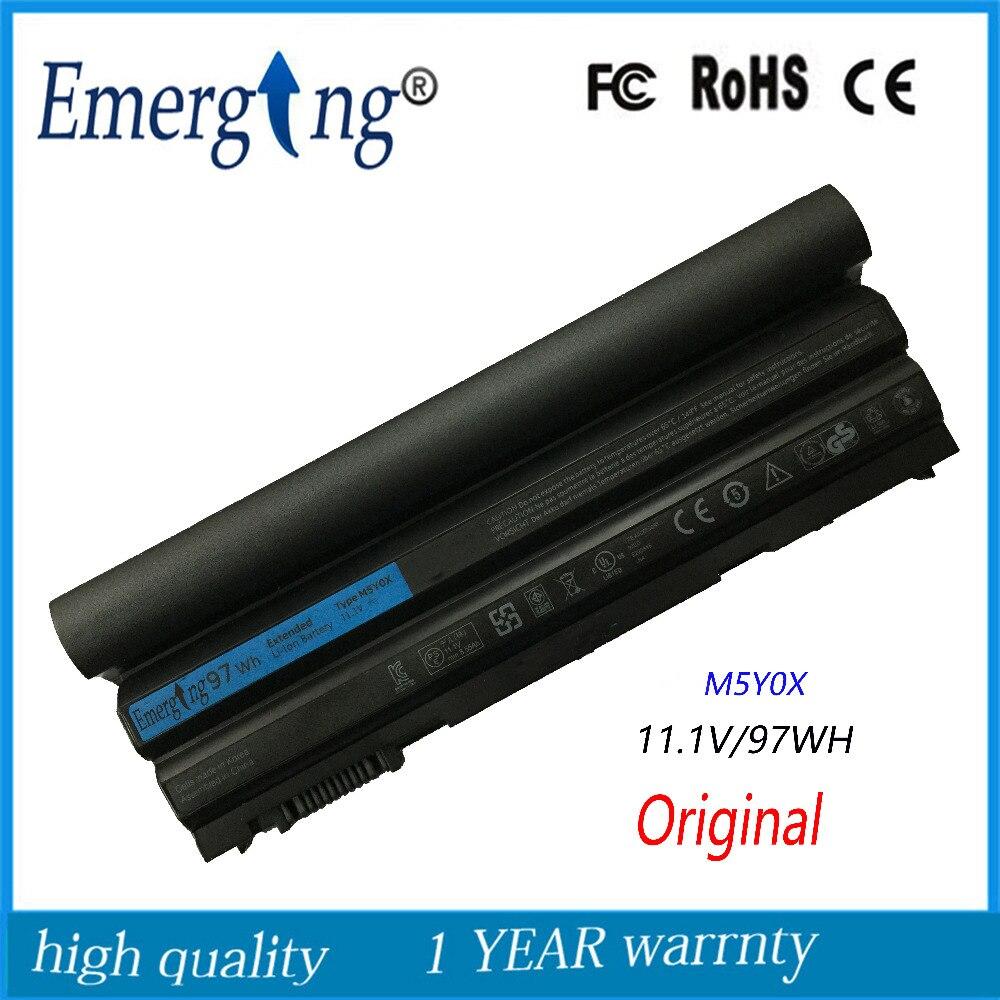 9 células 97WH Original Coréia Novas Células Bateria Do Portátil para Dell Latitude E5420 E6420 E6430 E6520 E6530 E5430 E5520 E5530 N3X1D T54FJ