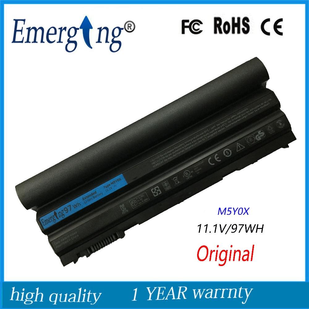 9cells 97WH Original Korea Cell New Laptop Battery For Dell Latitude E6420 E6430 E6520 E6530 E5420 E5430 E5520 E5530 N3X1D T54FJ