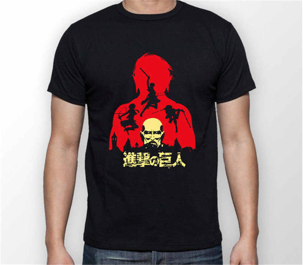 Men Fashion Attack on Titan Battle Shingeki No Kyojin Unisex Tshirt T-Shirt Tee ALL SIZES Men Funny casual streetwear hip hop pr