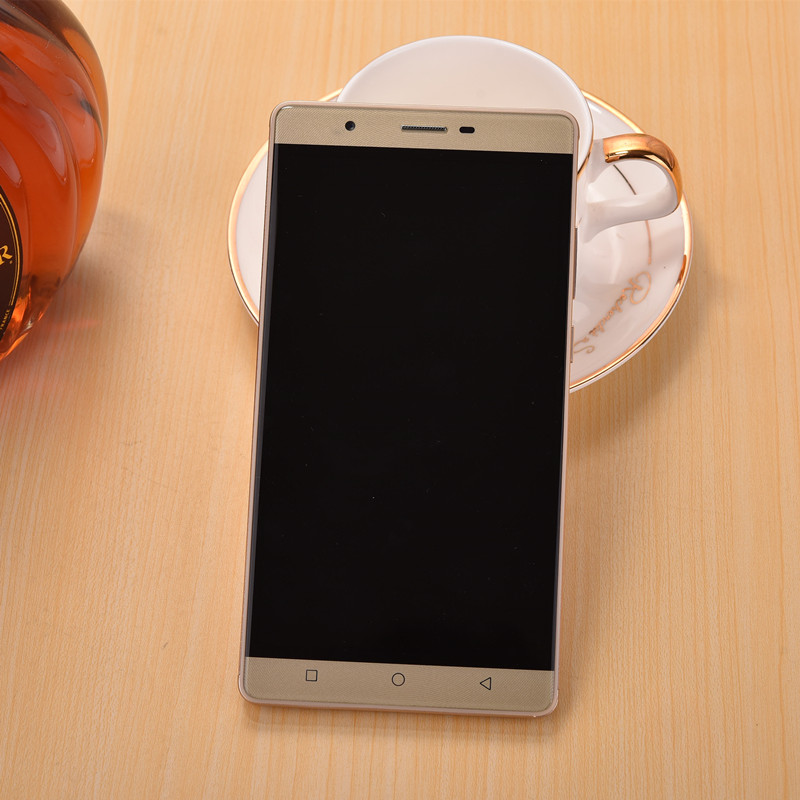 bilder für 6 zoll handy 1 gb + 8 gb handys mtk6580 quad core 3g smartphone android 5.1 metallrahmen 8.0mp entsperrt wcdma telefon