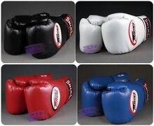 Близнецы Прихватки для мангала удар Боксерские перчатки из искусственной кожи Санда мешок с песком для тренировок Черные боксерские перчатки 8 10 12 14 унц. для мужчин женщи