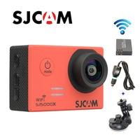 Free shipping!! Original SJCAM SJ5000X Elite WiFi 4K 24fps Gyro Sport Action Camera +Extra 1pcs Battery+Car Charger+Holder