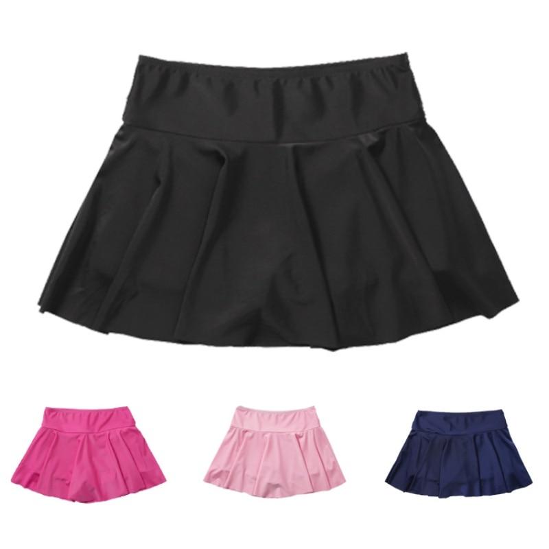 Женские летние пляжные юбки для плавания, консервативные женские купальные костюмы с высокой талией, спортивные дышащие купальники с защит...