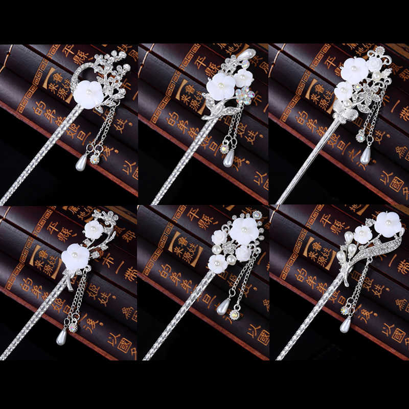 Vintage Classical Princess Tassels for Women Costumes Tiara Headdress Tiara Jewelry Hair Pins Jewelry Wedding Hair Accessories