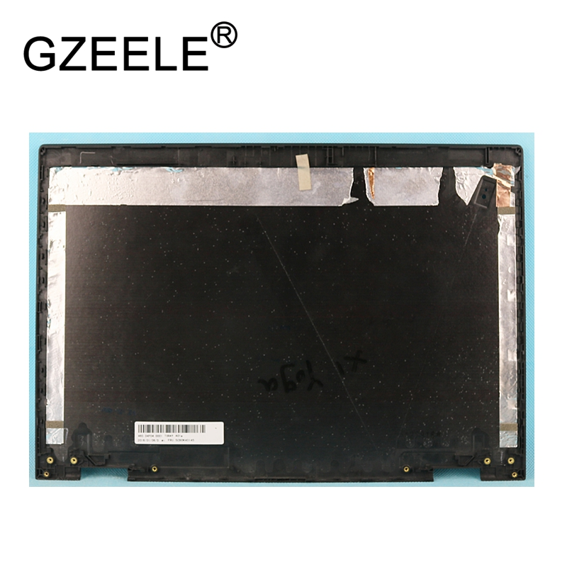 GZEELE For Lenovo for Thinkpad X1 Yoga 1St Gen 20FQ 20FR LCD Cover Back Cover Rear Lid Housing Cabinet 01AW968 SCB0K40145 case gzeele new for dell precision 17 7710 7720 m7710 m7720 top cover a case switchable lcd back cover n4fg4 0n4fg4 lcd rear lid case