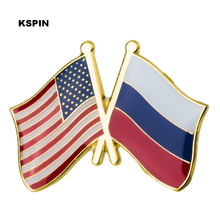 Brooch-Pins Russia Badges Metal-Pin Decorative Cloth for XY0289-4 U.S.A