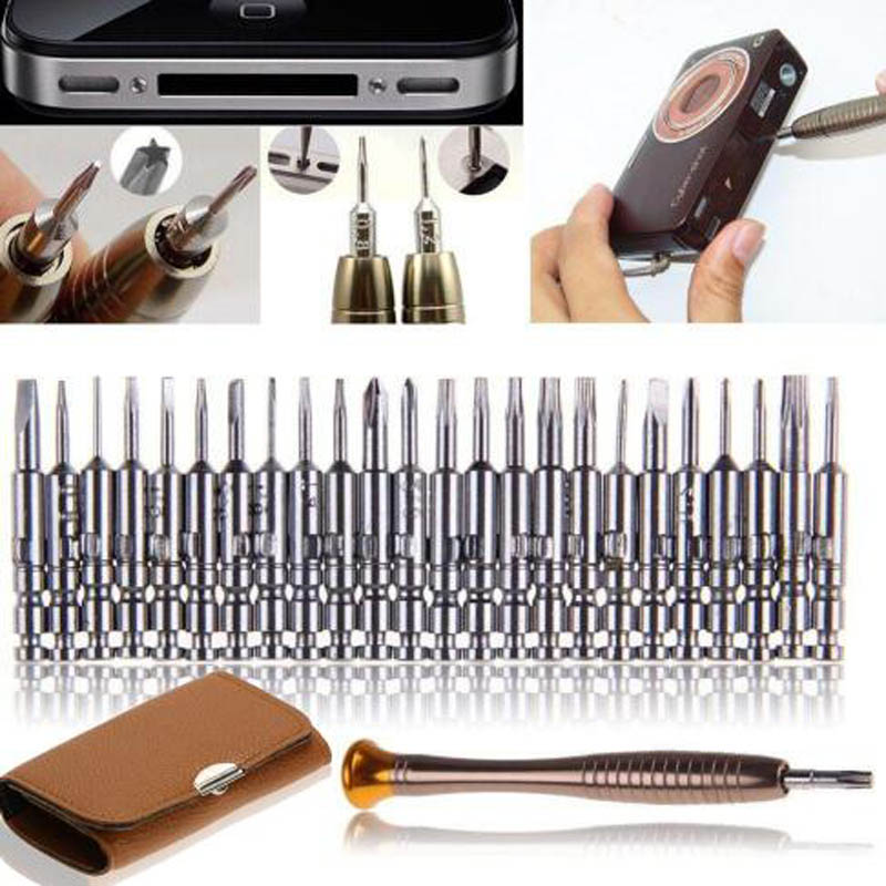 Dropship Screwdriver Set 25 In 1 Torx Multifunctional Opening Repair Tool Set Precision Screwdriver For Phones Tablet PC