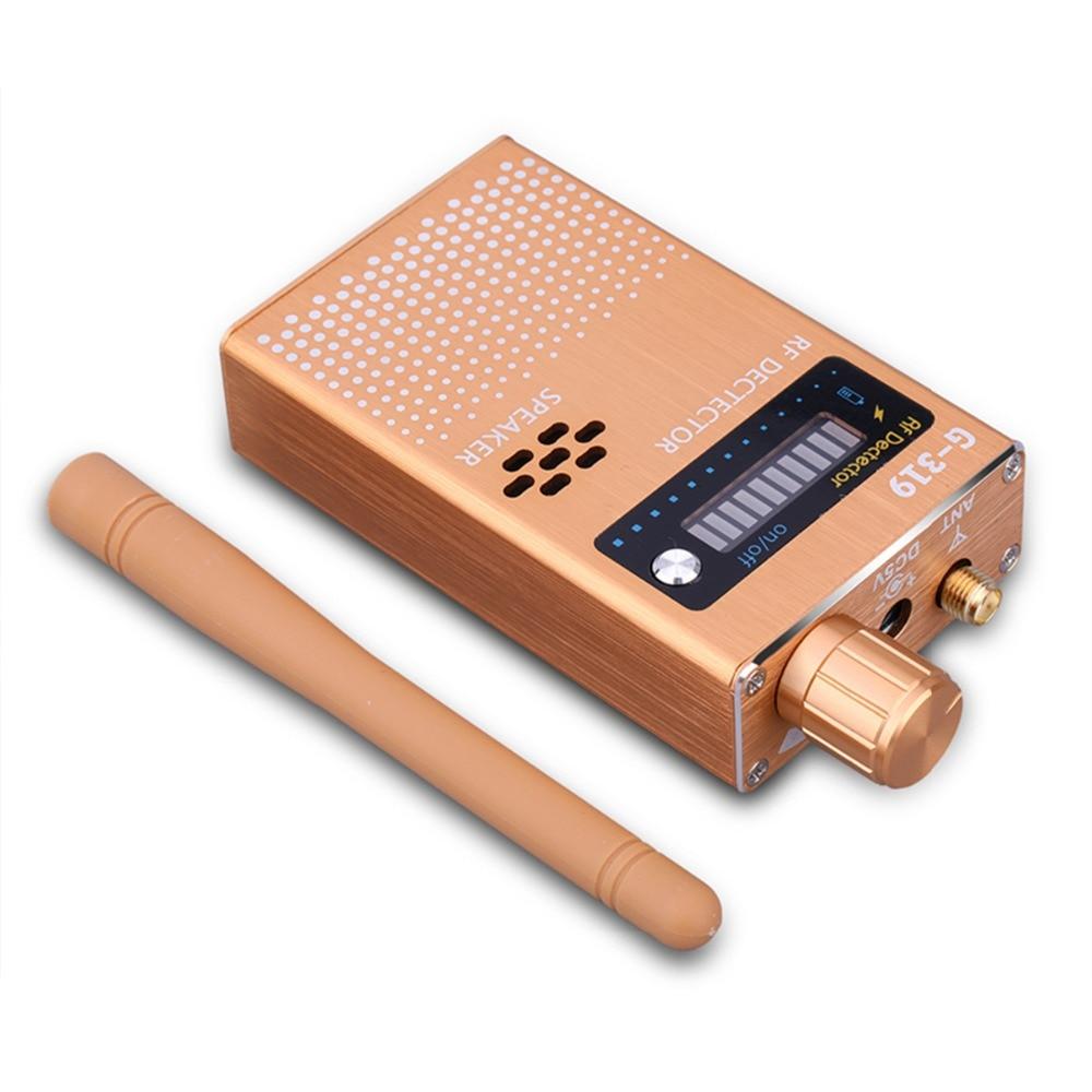 Détecteur de bogue sans fil Super Anti-espion détecteur de Signal RF détecteur de Signal GSM dispositif d'écoute détecteur de Radio Radar Scanner de Signal sans fil