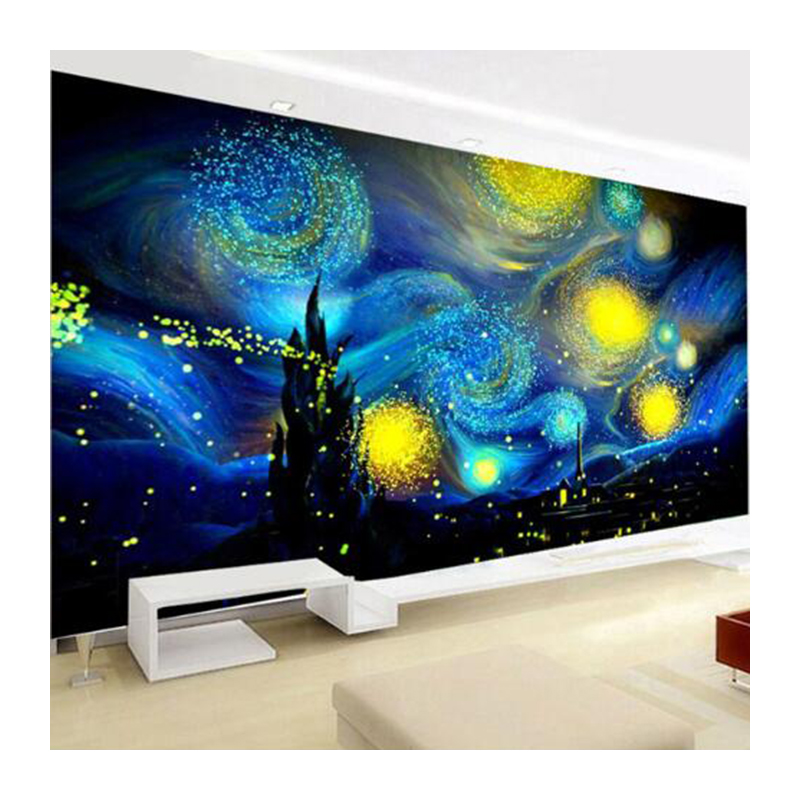 Home & Garden Needle Arts & Crafts Special-shaped,full,diamond Painting,120x70cm,starry Sky,landscape,rhinestone,diamond Mosaic,picture,diy,diamond Embroidery Xu Pretty And Colorful