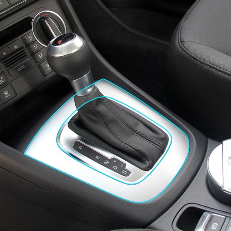 Car interior central control panel kit tpu protective film - Automotive interior protective film ...