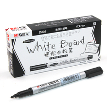 12 pcs/Box Mini Dry Erase Marker Whiteboard Marker Pen for School Stationery & Office Supply