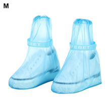 Children Adult Shoe Cover PVC Outdoor Reusable Waterproof Thicken Overshoes Non-Slip Rainboots