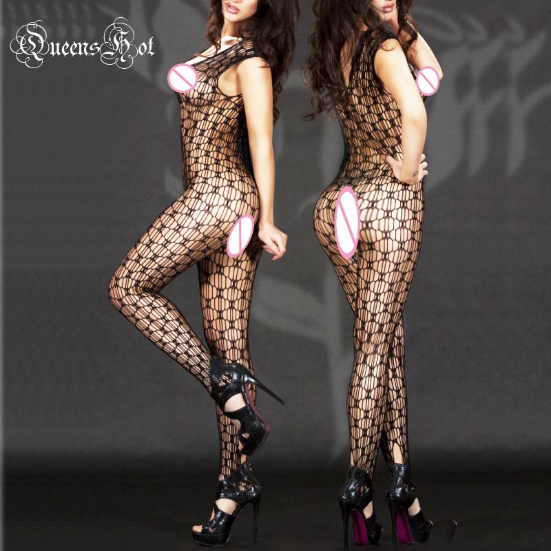 Erotic Sexy Lingerie Catsuit BodySuit Jumpsuit Body Stocking Teddy  Babydoll Sleepwear Latex Catsuit Fetish Porn Perspective