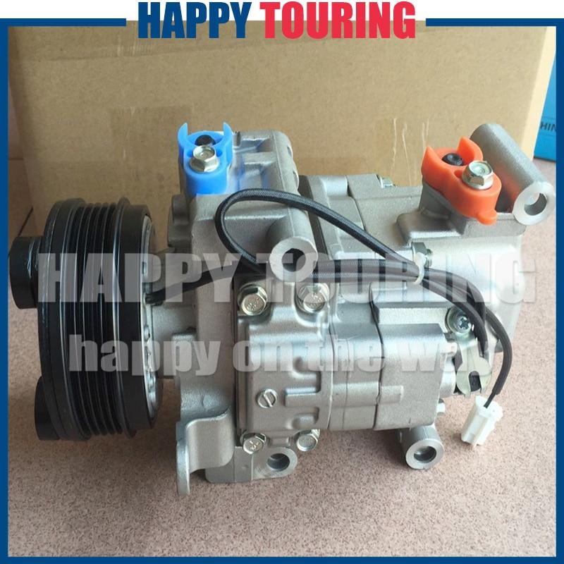 Air Conditioning Compressor For MAZDA 3 BK 2.0L 2003-2009 MAZDA SP23 2.3L 2003-2009 H12A1AJ4EX H12A1AH4FX