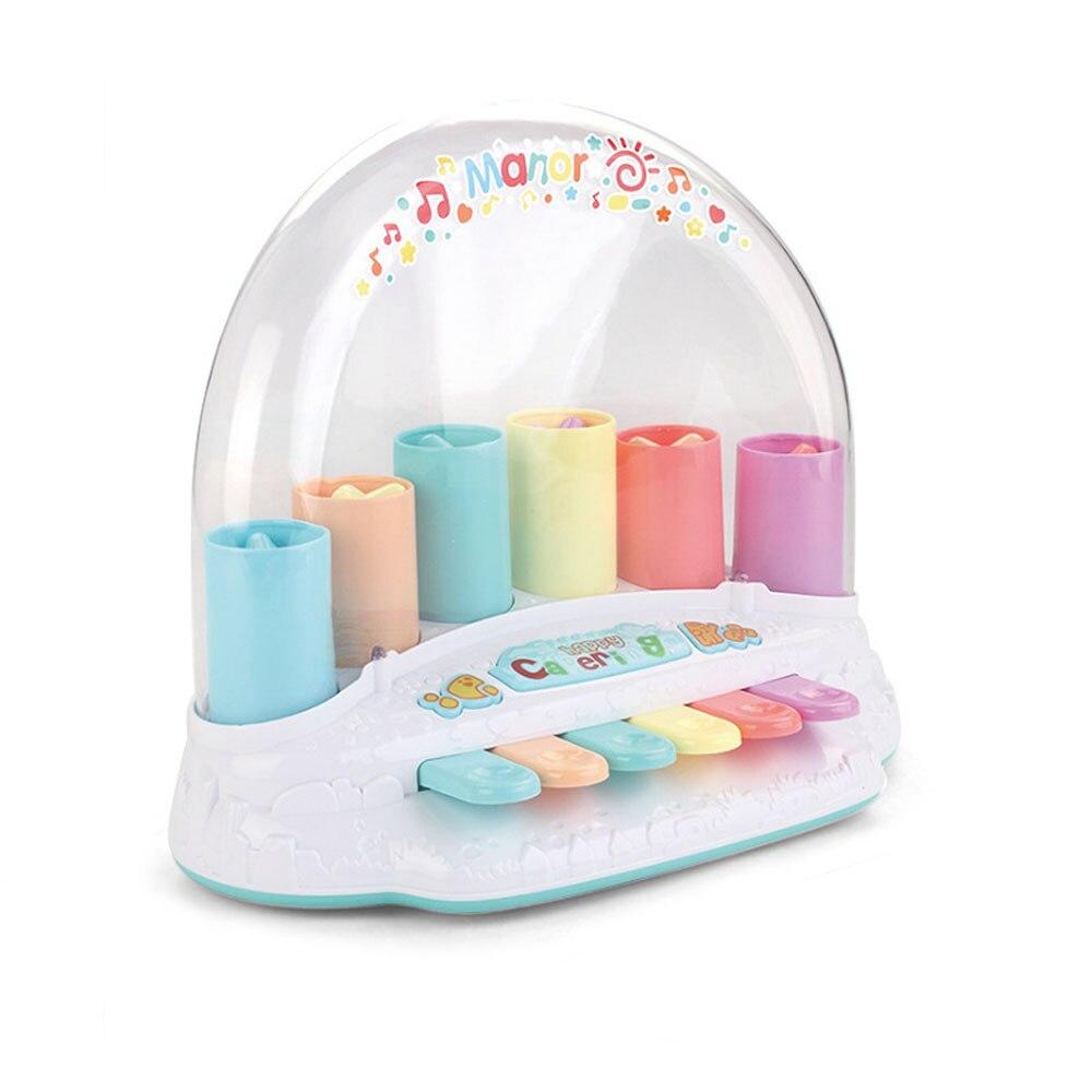 Bébé jouet Musical rebond Piano pour enfants jouets éducatifs bébé multi-fonction musique illumination jouer Piano jouet