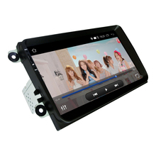 "1 Din Android 5.1 Car Radio Stereo 9 "" Touch Screen High Definition GPS Navigation Bluetooth  Player for VW Passat Golf MK5 MK6"