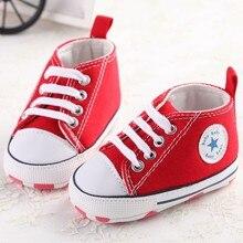 Newborn Baby Soft Bottom Anti-slip Prewalker Shoes