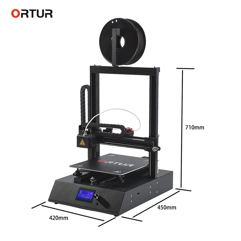 Free shipping Ortur4 3d Printer Full Metal Frame High Precision 3d Printer Kkit Imprimante Impresora Filament Runout Sensor