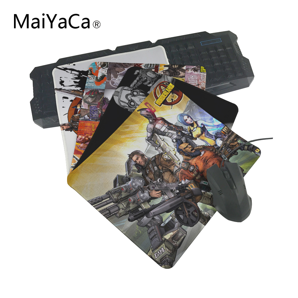 MaiYaCa Hot Selling Customized Borderlands Mouse Pad Gaming Rectangle Mousemat for PC Computer Laptop Notbook Gaming Mice