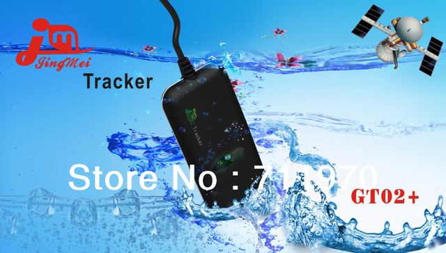 Free Shipping Mini Portable Waterproof GPS Vehicle Tracker Built-in vibration sensor for intelligent vehicle anti-theft system