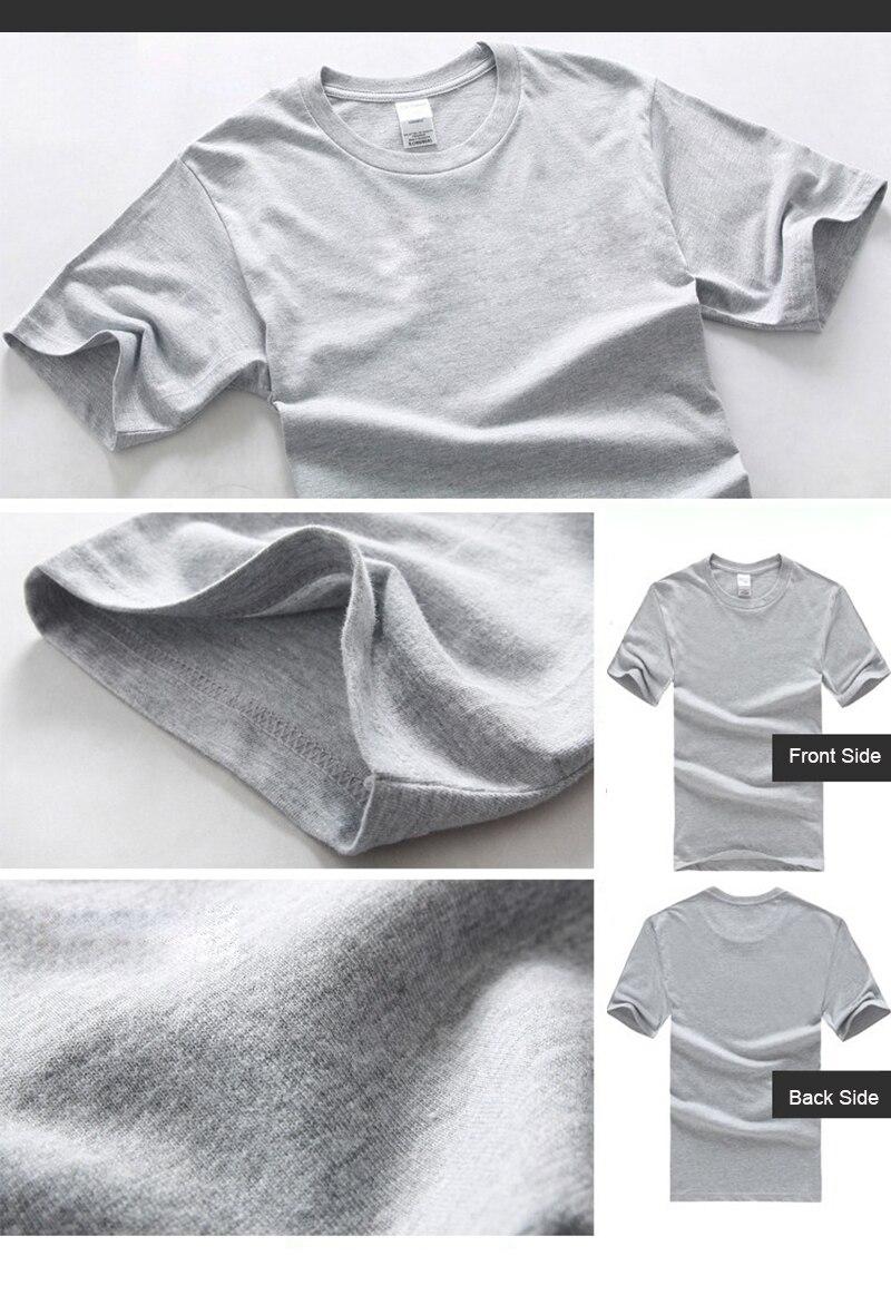 c829e4a4 Lanmaocat Men Cotton T Shirt Custom Text Personalized T-shirts ...