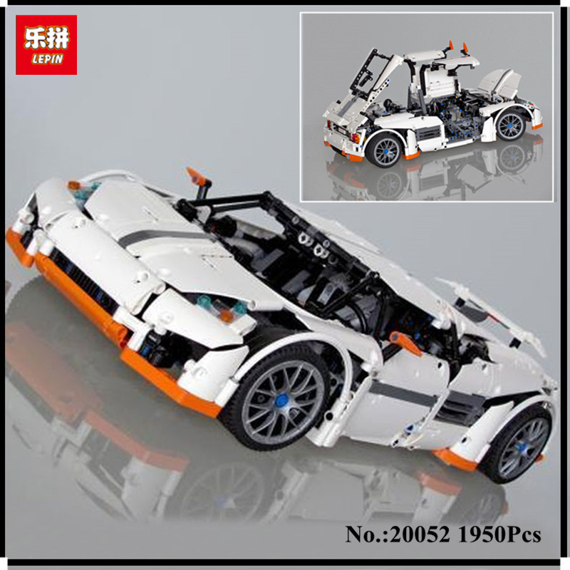 IN STOCK Lepin 20052 The Predator Supercar Set MOC-2811 Assemblage Technic Series DIY Building Blocks Bricks as Educational Toys lepin 20052 the predator supercar set moc 2811 diy building blocks bricks children educational toy christmas gift lepin technic