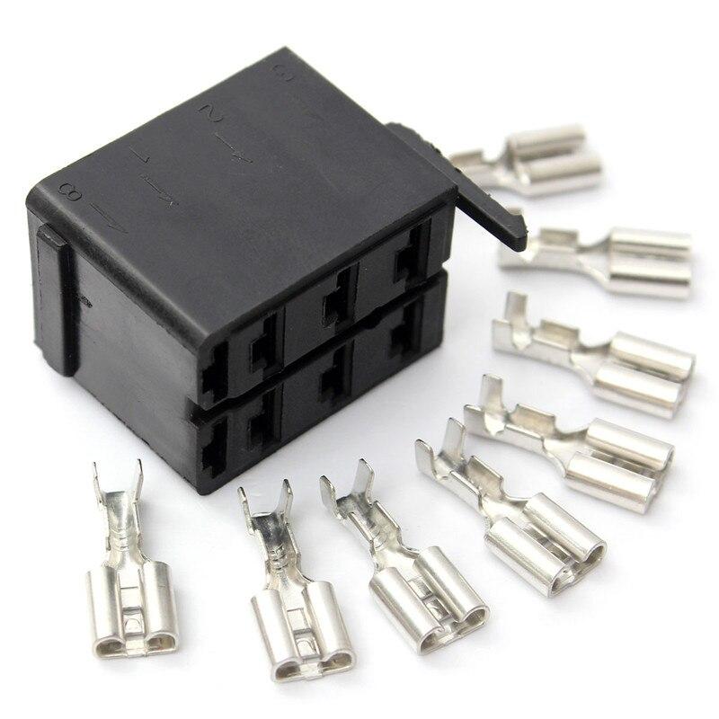 8pcs female spade wiring connector socket plug terminals rocker rh aliexpress com 4 Pin Rocker Switch Wiring Rocker Switch Wiring Diagram