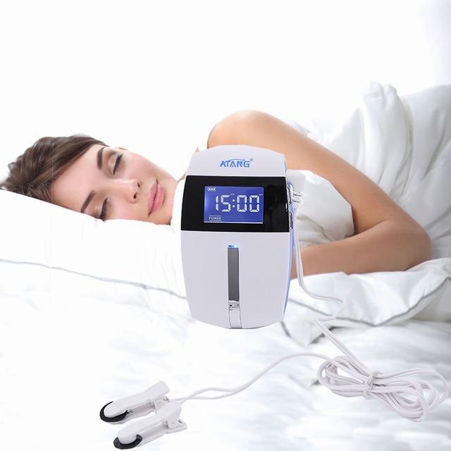 Elektro Stimulator gegen Schlaflosigkeit