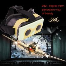 Creatively Virtual Reality VR Mobile Phone 3D Viewing Glasses For 5.7 Inch Smartphone Glass Fit For Iphone For Samsung Wholesale