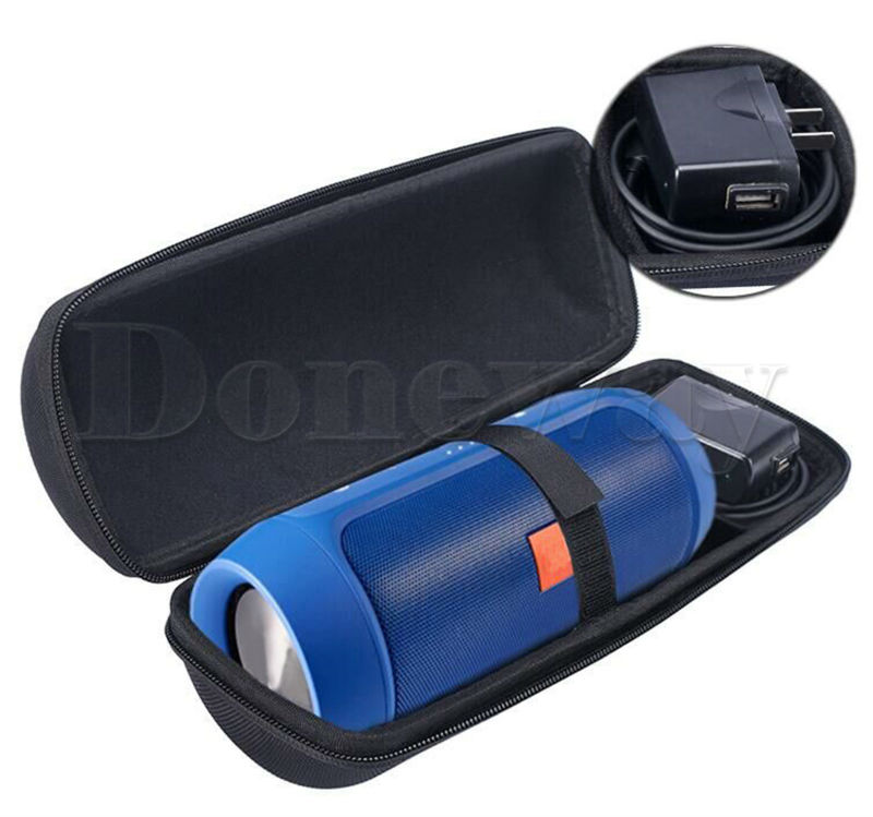 XBERSTAR for JBL Charge 2 Charge 2+ Case Bag Zipper Pouch Portable Travel Carry Storage Hard Bluetooth Speaker and Charger