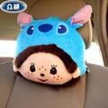 2 pcs  Monchhchi Shi Dizai Head pillow Cartoon car neck pillow Plush pillow for car