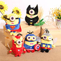 Hot Kids Minions Plush Toys Batman Spiderman Iron Man Plush Toy Doll Home Car Party Decor Festival Gifts