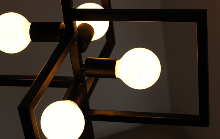 Modern Iron Pendant Lamp Vintage Chain Pendant Light Foyer/Loft/Bar/Mall/Coffee House Lighting Free Shipping - 6