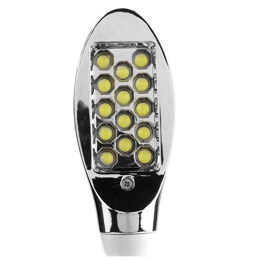 AC 110-265V Светодиодный супер яркая Магнитная основа швейная машина Рабочий стол гусиная шея лампа с штепсельной вилкой ЕС