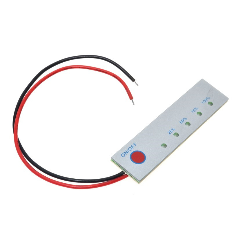 5pcs/lot 3 Series Lithium Battery Power Display Board 12V Electric Quantity Indicator Five Level Electricity Indicator