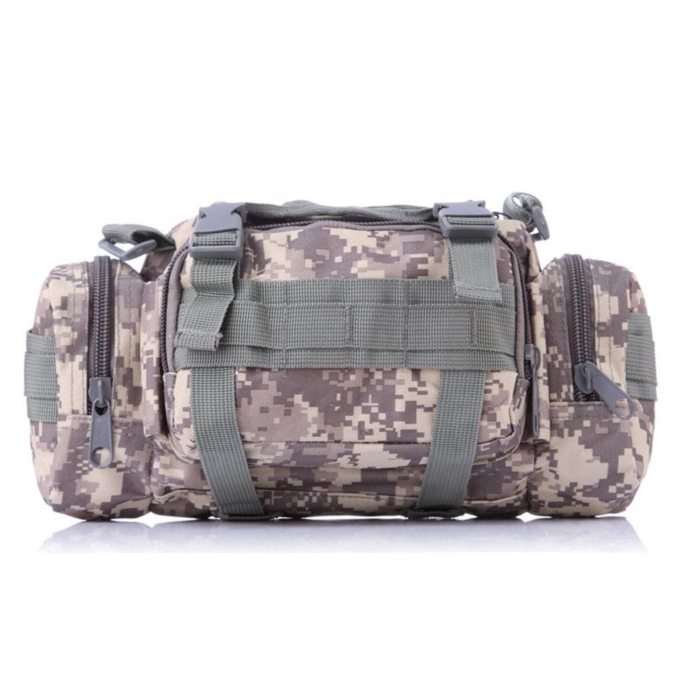 Fishing bag multifunctional camouflage lure bag fishing for Fishing backpack tackle bag