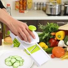 Slicer gadgets, cortar vegetal 5 palas de almacenamiento lateral diseño, Premium Food slicer, fruta Peeler queso rallador