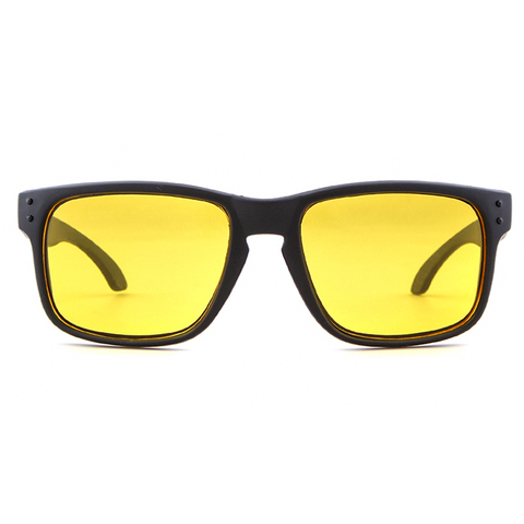 Night Vision Driving Sunglasses Men Brand Yellow Lense Glasses Goggles Vision Night Glasses for Driving Yellow Sunglasses Male Karachi