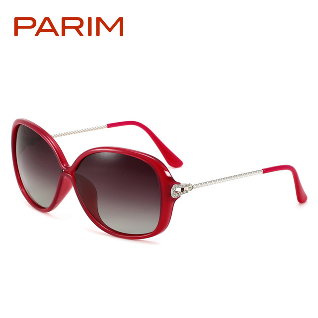 b7c015a5a6 Parim ladies sunglasses women brand designer oversized sun glass driver  glasses clear sunglasses for women polarized