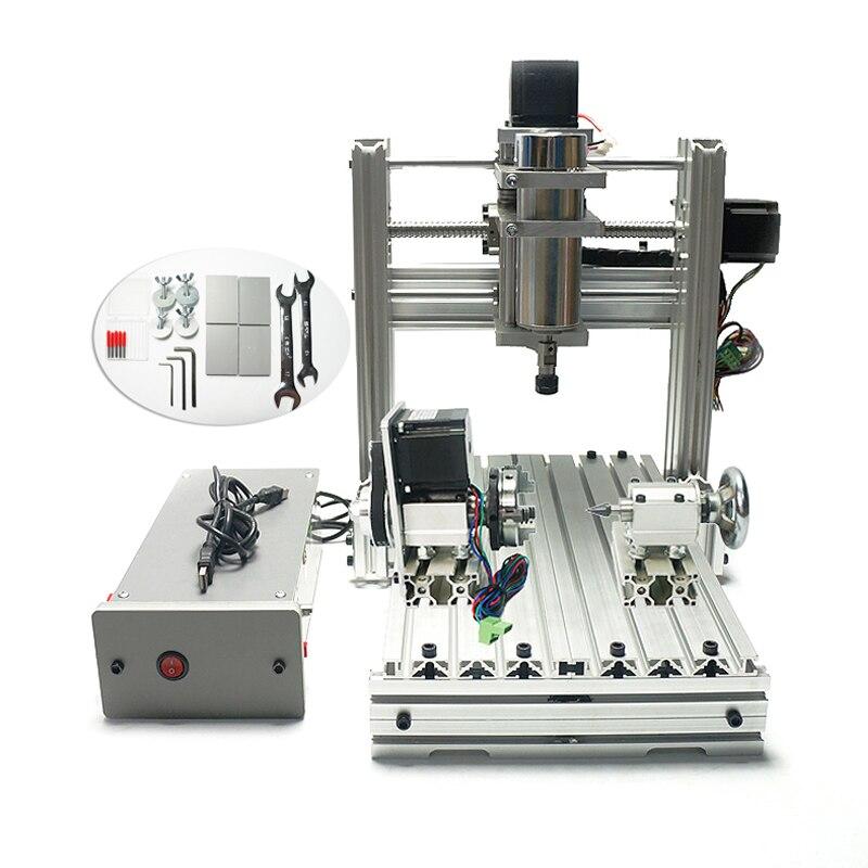 Bricolage CNC machine de gravure 3020 métal mini CNC routeur pour la sculpture sur carte pcb