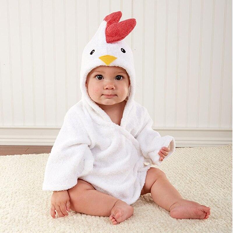 childrens-clothing-boys-girls-Robes-new-winter-spring-autumn-cartoon-baby-bathrobe-Sleepwear-Robe-winter-Pink-rabbit-bear-2