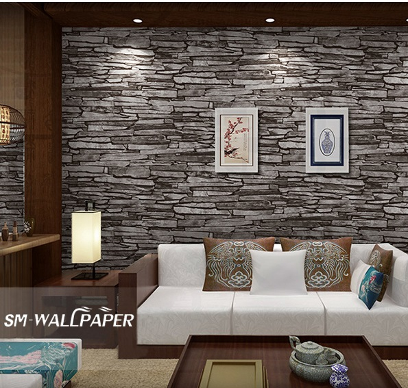 Wholesale Nature Sense Vinyl 3d Retro Natural Stone Wallpaper for Home Decoration Factory Price 5x wholesale 503562 3 7v 1200mah
