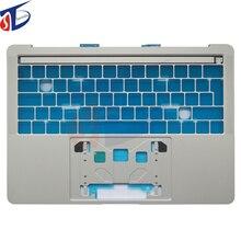 Топ чехол для Macbook Pro retina A1706 Великобритании корпус клавиатуры серебра Цвет