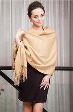 Camel 2018 New Large Long Cashmere Pashminas Craves Europe and America Women's Shawl Scarf Wrap Multicolor SW05-D